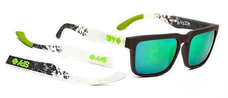 e074c1513 Spy Helm - Ken Block Livery - Grey W/Green Spectra Lens