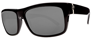 Electric Back Line - Black Gloss - Silver M2 Polarized
