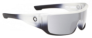 Spy Carbine - White Lightning - Grey W/Silver Mirror Lens