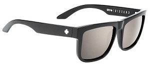 Spy Discord - Black Gloss - Happy Lens Polarized Bronze W/Black Mirror