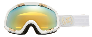 Von Zipper Feenom - White WHG - Gold Chrome Lens