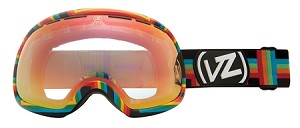 Von Zipper Fishbowl - Double Rainbow MLT - Fire Chrome Lens