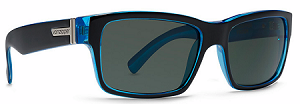 Von Zipper Fulton - Black Blue BBK - Grey Lens