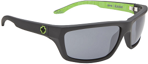 Spy Kash - Ken Block Matte Black - Grey Lens - SALE