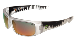 Spy Logan - Ken Block Crystal Drips - Grey W/Red Spectra Lens