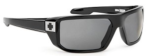 Spy Mccoy - Black Gloss - Grey Polarized Lens
