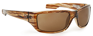 Spy Nolen - Brown Stripe Tortoise - Bronze Lens