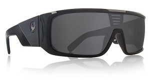 Dragon Orbit - Jet Black - Grey Lens