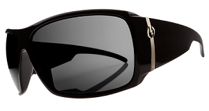 Electric Big Beat - Gloss Black - Grey Polarized