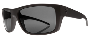 Electric Sixer - Matte Black - Grey Melanin Polarized