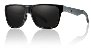 Smith Lowdown Sunglasses - Impossibly Black - Blackout Lens