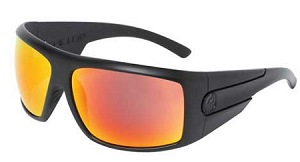 Dragon Shield - Matte Stealth - Red Ion Polarized