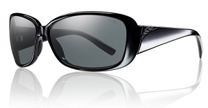 Smith Shorewood - Black - Grey Polarized