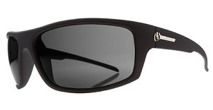 Electric Tech One - Black Matte - Grey Polarized Level 1