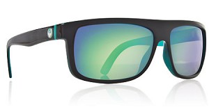 Dragon Wormser - Jet Black - Teal Lens